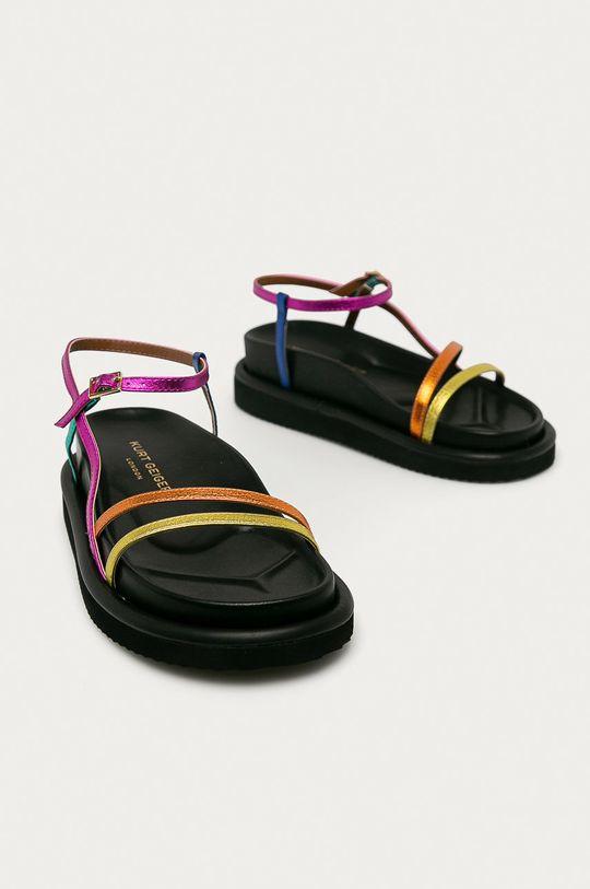 Kurt Geiger London - Kožené sandály Orson vícebarevná