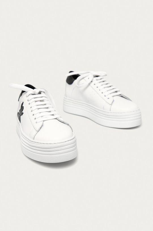 Patrizia Pepe - Buty skórzane biały