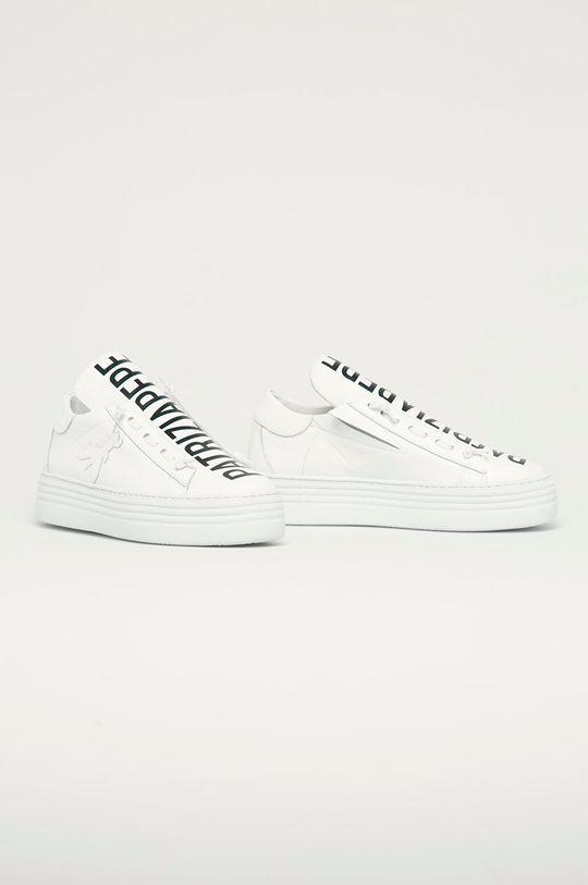 Patrizia Pepe - Kožená obuv biela