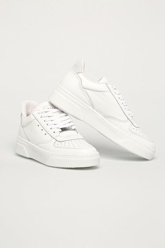 Steve Madden - Kožená obuv Darma biela