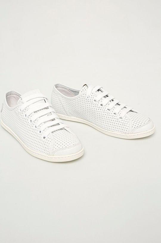 Camper - Kožené boty Uno bílá