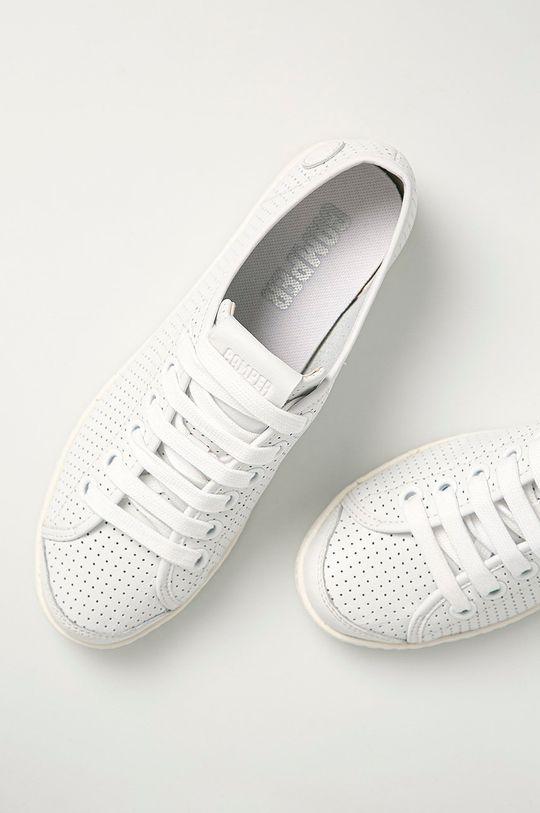 bílá Camper - Kožené boty Uno