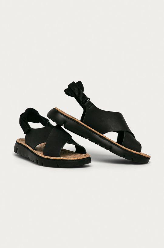 Camper - Sandały czarny