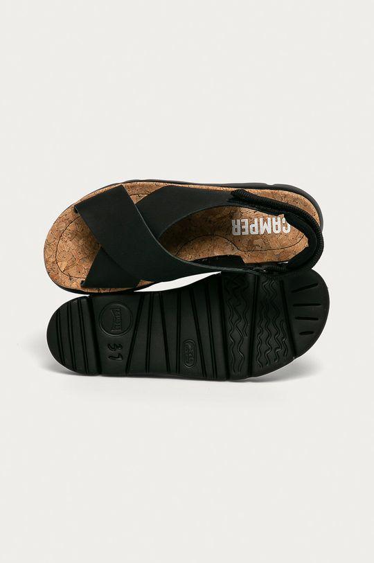 czarny Camper - Sandały
