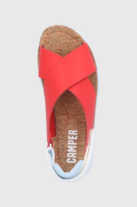czerwony Camper - Sandały skórzane Oruga