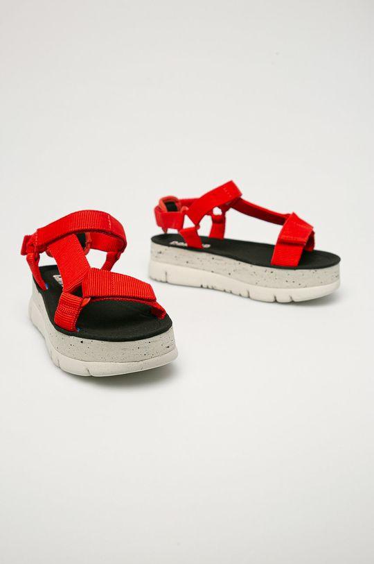 Camper - Sandały Oruga czerwony