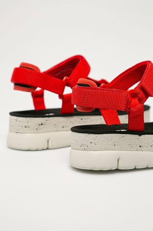 czerwony Camper - Sandały Oruga