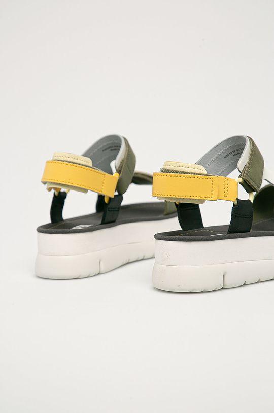 Camper - Kožené sandály Oruga  Svršek: Přírodní kůže Vnitřek: Umělá hmota Podrážka: Umělá hmota
