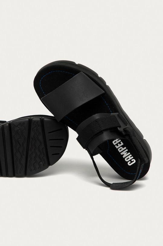 czarny Camper - Sandały Oruga