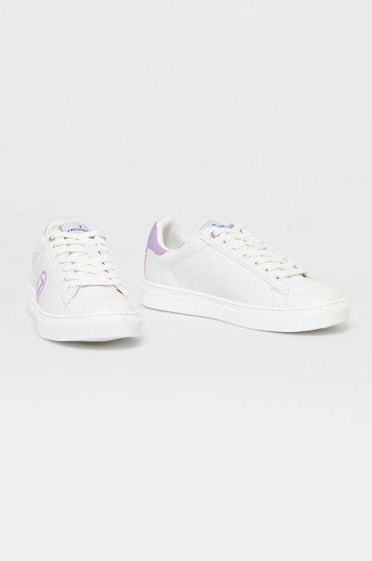 Trussardi Jeans - Topánky biela