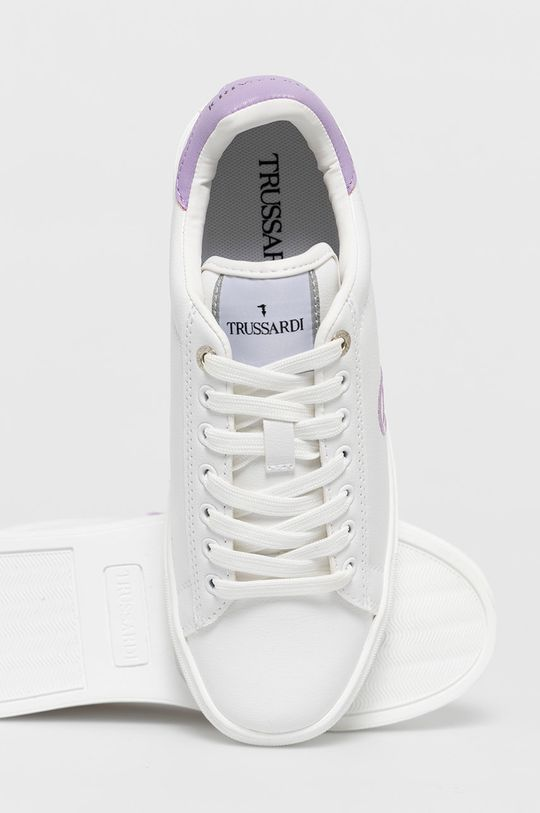 biela Trussardi Jeans - Topánky