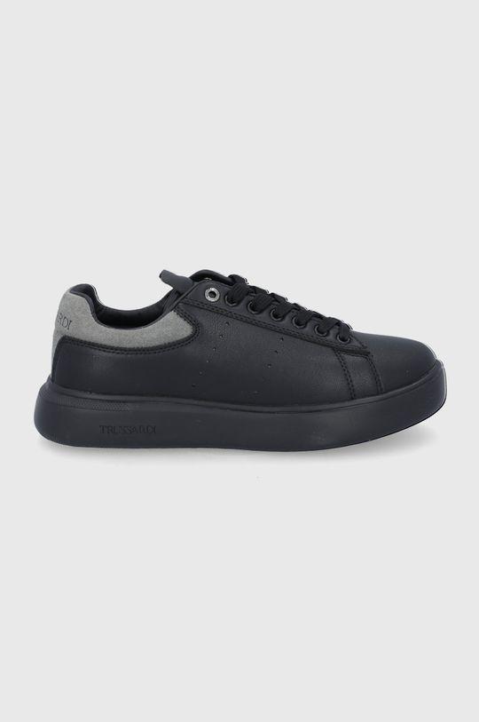 czarny Trussardi Jeans - Buty Damski