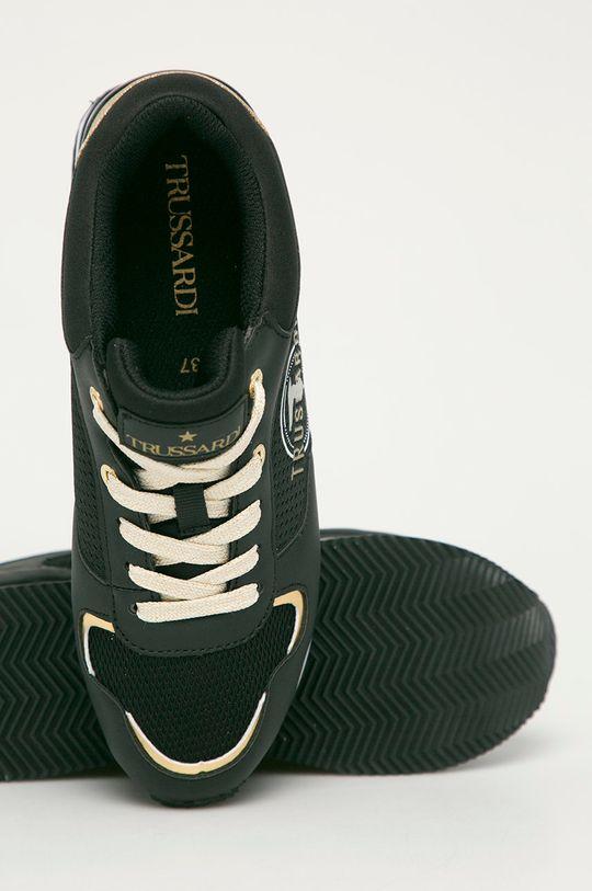 czarny Trussardi Jeans - Buty