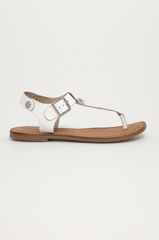 biela Steve Madden - Kožené sandále Tally Dámsky