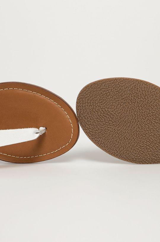 biela Steve Madden - Kožené sandále Tally
