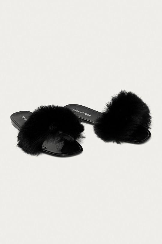 Steve Madden - Pantofle Fritzie černá