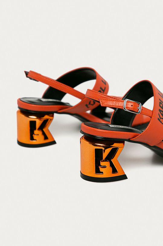 Karl Lagerfeld - Kožené sandály  Svršek: Přírodní kůže Vnitřek: Umělá hmota, Přírodní kůže Podrážka: Umělá hmota