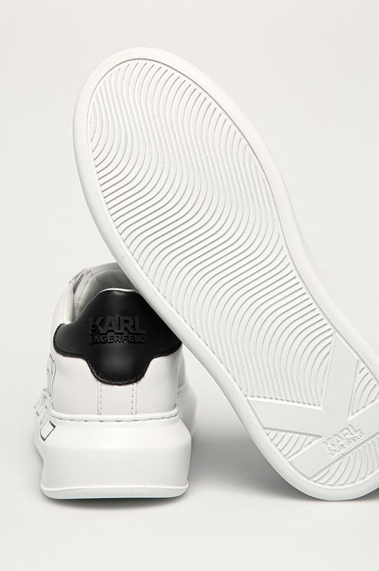 Karl Lagerfeld - Ghete de piele  Gamba: Piele naturala Interiorul: Material sintetic, Piele naturala