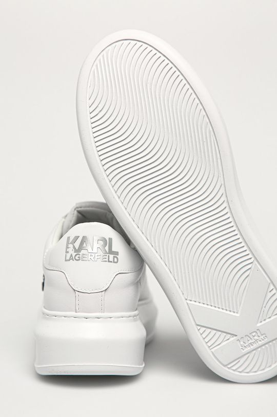 Karl Lagerfeld - Ghete de piele  Gamba: Piele naturala Interiorul: Material sintetic, Piele naturala Talpa: Material sintetic