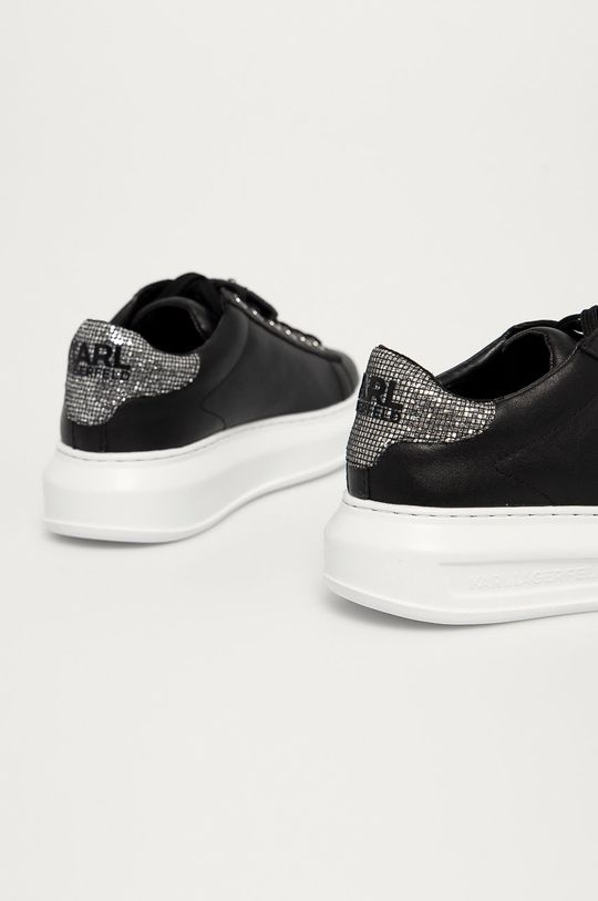 Karl Lagerfeld - Kožené boty  Svršek: Přírodní kůže Vnitřek: Umělá hmota Podrážka: Umělá hmota