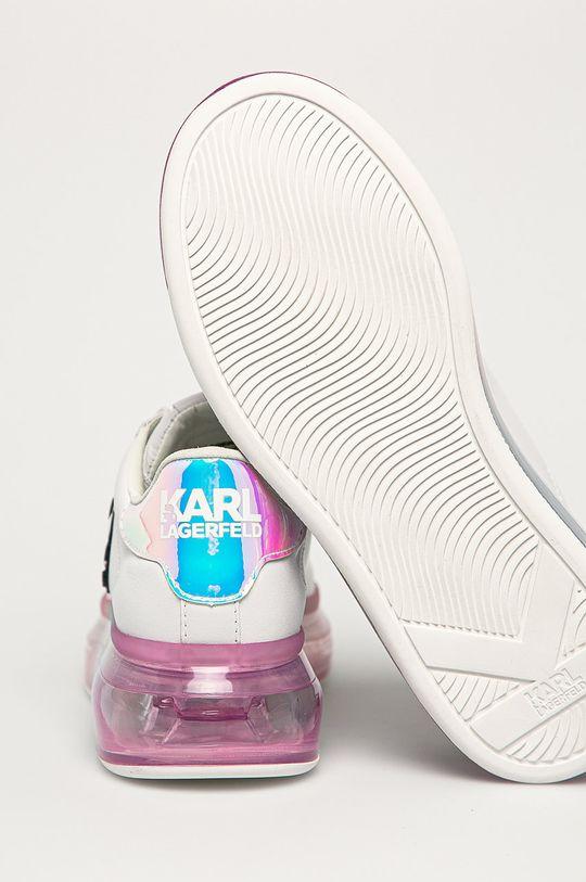 Karl Lagerfeld - Kožená obuv  Zvršok: Prírodná koža Vnútro: Syntetická látka, Prírodná koža Podrážka: Syntetická látka