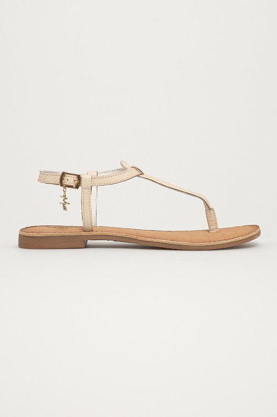 biela Mexx - Kožené sandále Dámsky