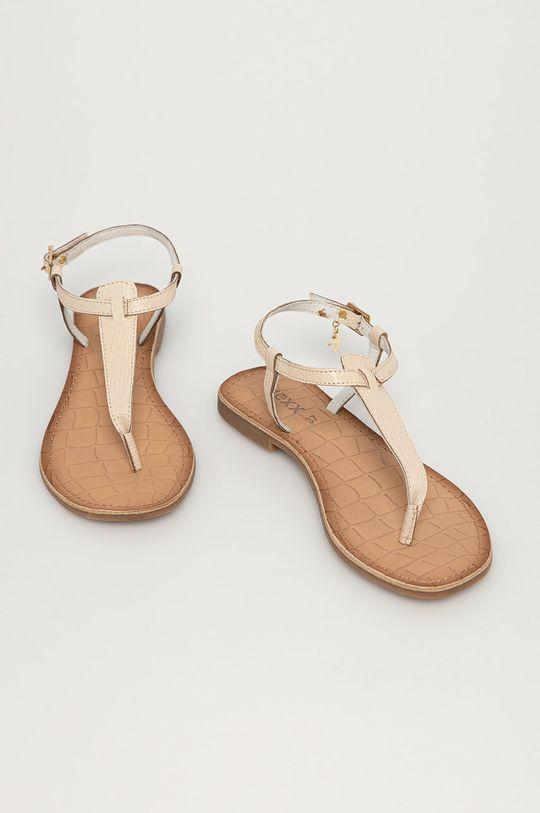 Mexx - Kožené sandále biela