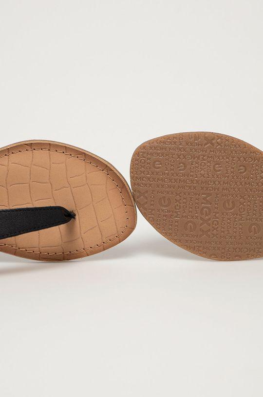 černá Mexx - Kožené sandály