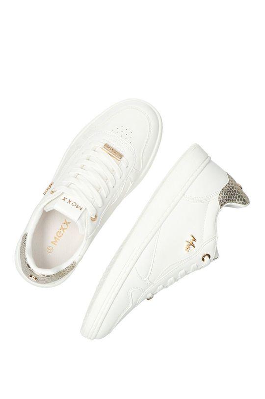 bílá Mexx - Kožené boty Giselle