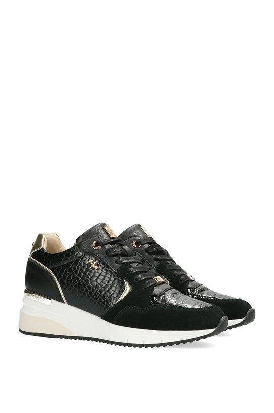 Mexx - Kožená obuv Gena čierna