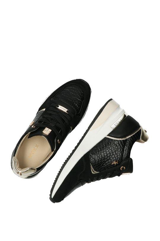čierna Mexx - Kožená obuv Gena