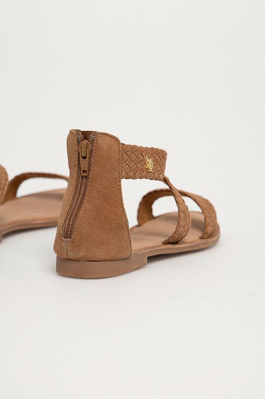 Mexx - Sandały zamszowe Eda Cholewka: Skóra zamszowa, Wnętrze: Skóra naturalna, Podeszwa: Materiał syntetyczny