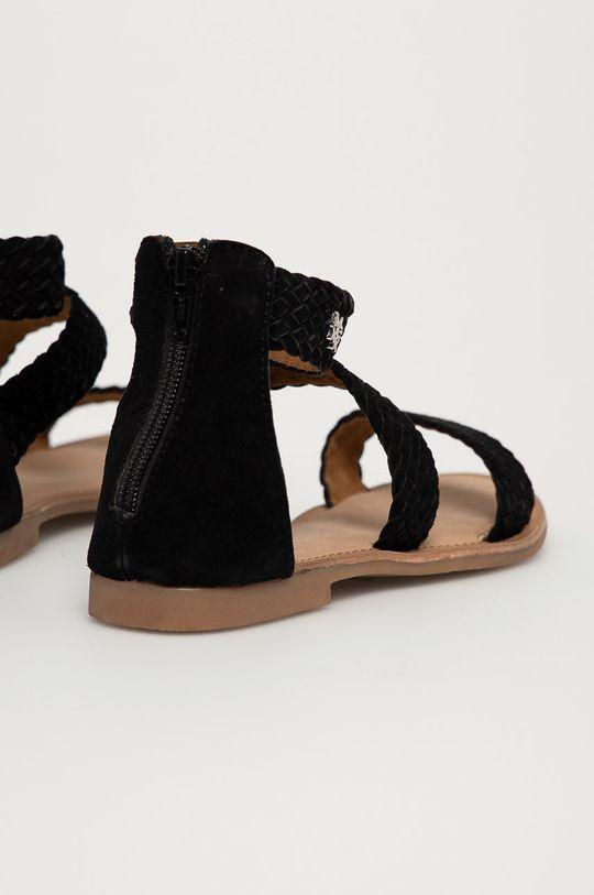 Mexx - Semišové sandály Eda  Svršek: Semišová kůže Vnitřek: Přírodní kůže Podrážka: Umělá hmota