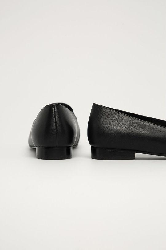 Karl Lagerfeld - Mokasyny skórzane Cholewka: Skóra naturalna, Wnętrze: Materiał syntetyczny, Podeszwa: Materiał syntetyczny