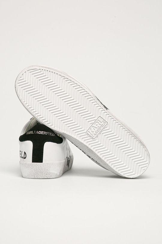 Karl Lagerfeld - Kožené boty  Svršek: Přírodní kůže Vnitřek: Umělá hmota, Přírodní kůže Podrážka: Umělá hmota