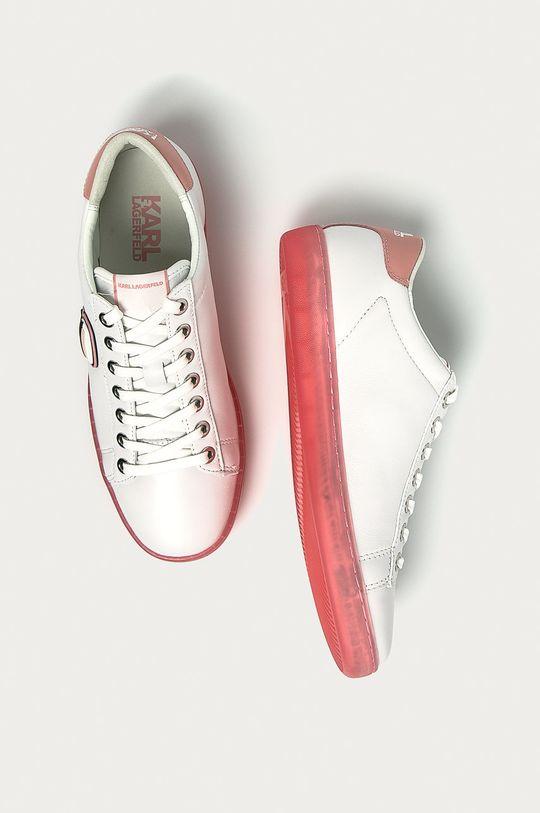 Karl Lagerfeld - Kožené boty  Svršek: Přírodní kůže Vnitřek: Textilní materiál Podrážka: Umělá hmota
