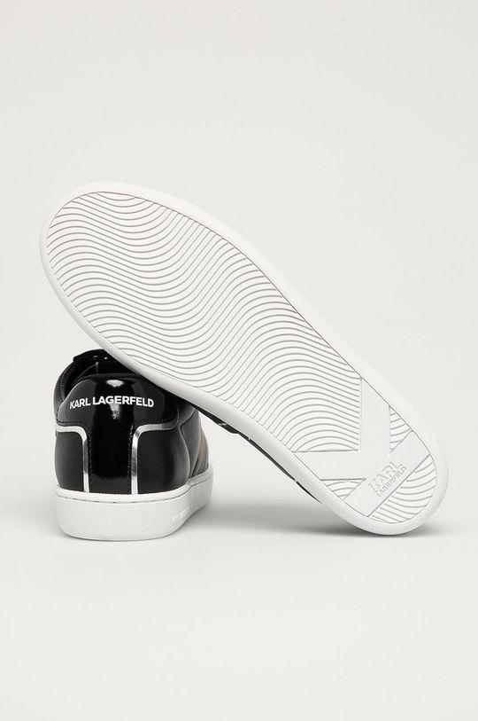 Karl Lagerfeld - Ghete de piele  Gamba: Piele naturala Interiorul: Material sintetic, Material textil Talpa: Material sintetic