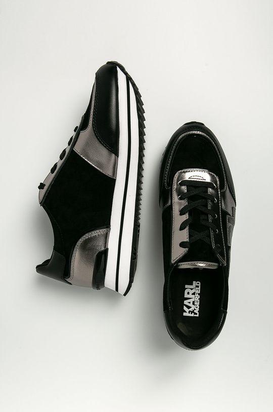 Karl Lagerfeld - Kožené boty  Svršek: Přírodní kůže Vnitřek: Textilní materiál, Přírodní kůže Podrážka: Umělá hmota