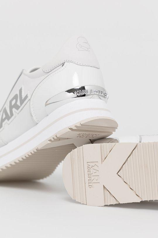 Karl Lagerfeld - Buty skórzane Cholewka: Skóra naturalna, Wnętrze: Materiał syntetyczny, Skóra naturalna, Podeszwa: Materiał syntetyczny