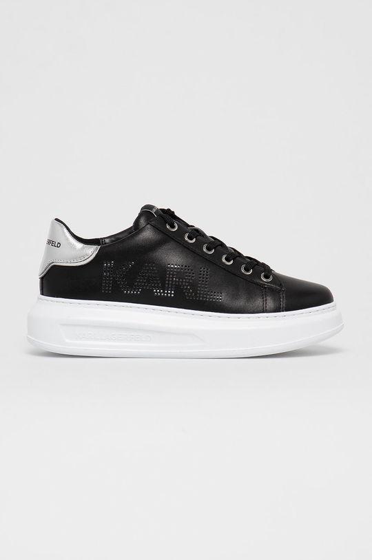 czarny Karl Lagerfeld - Buty skórzane Damski