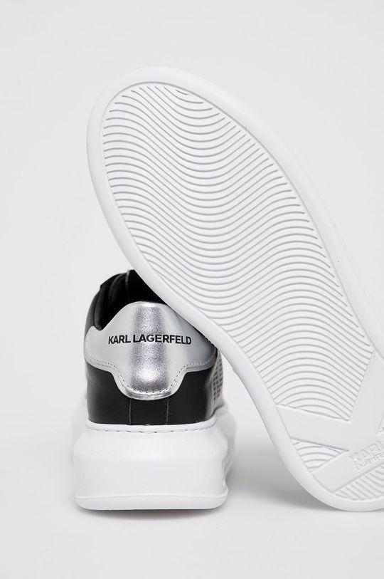 Karl Lagerfeld - Buty skórzane Cholewka: Skóra naturalna, Wnętrze: Materiał syntetyczny, Materiał tekstylny, Podeszwa: Materiał syntetyczny