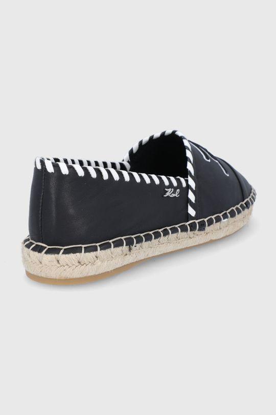 Karl Lagerfeld - Espadryle Cholewka: Materiał syntetyczny, Skóra naturalna, Wnętrze: Materiał syntetyczny, Materiał tekstylny, Podeszwa: Materiał syntetyczny
