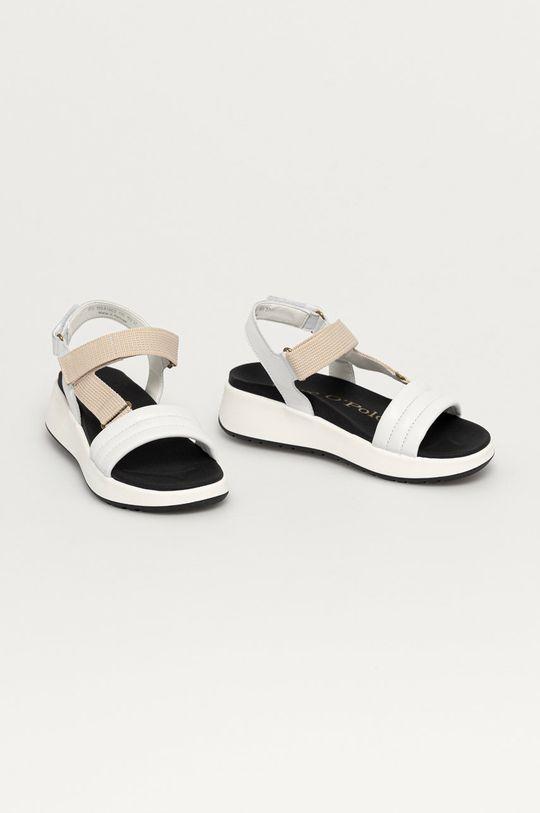 Marc O'Polo - Sandále biela