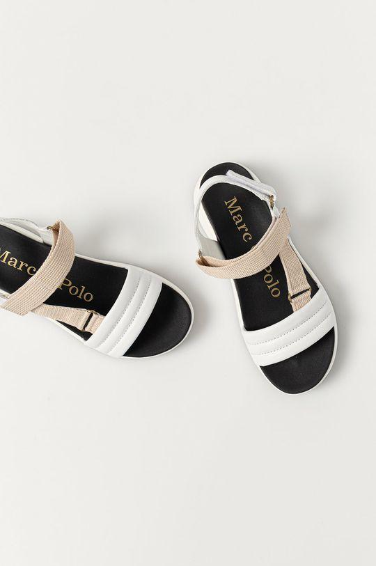 biela Marc O'Polo - Sandále