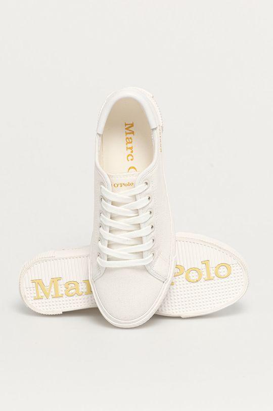 biały Marc O'Polo - Tenisówki