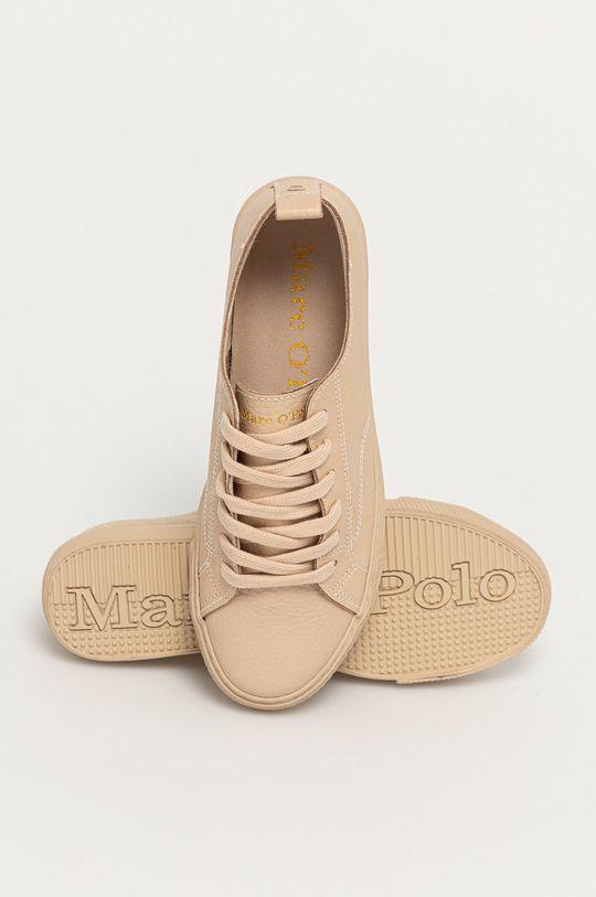písková Marc O'Polo - Kožené boty