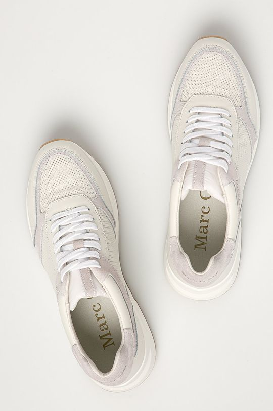 alb Marc O'Polo - Pantofi