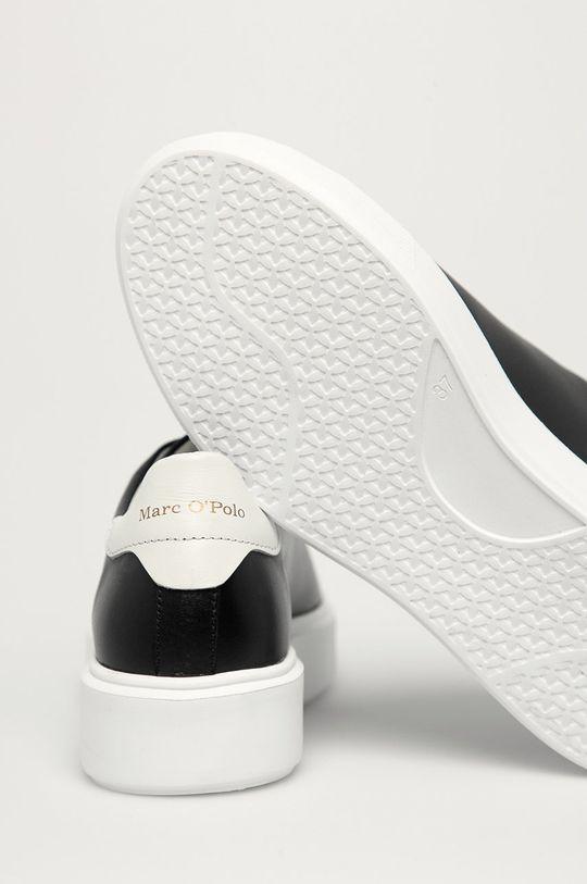 Marc O'Polo - Ghete de piele  Gamba: Piele naturala Interiorul: Material sintetic, Material textil Talpa: Material sintetic