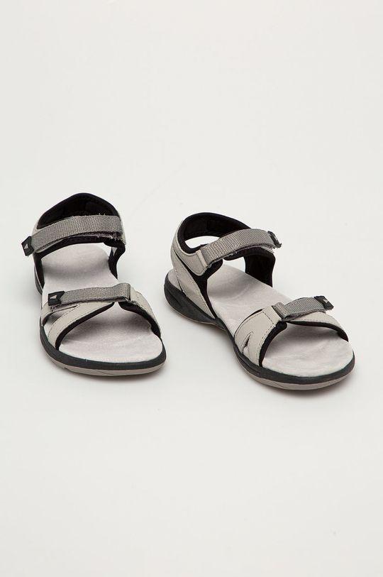 CMP - Sandály Adib světle šedá