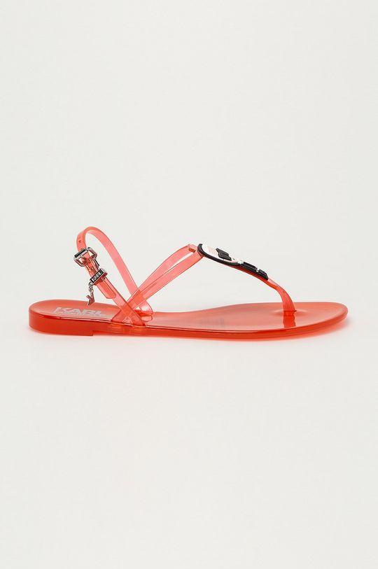 oranžová Karl Lagerfeld - Sandále Dámsky
